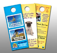 Door hanger- Double Side - 1000