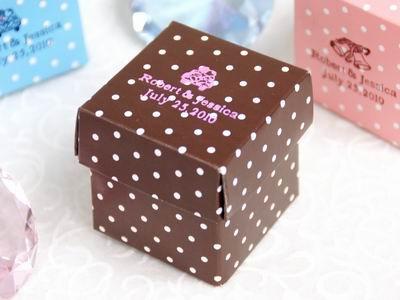 Chocolate Polka Dot