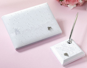 Happily Ever After Guest Book with Pen Set
