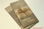 JR-4486-GD Envelope & Main invitation