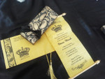 Mini Scroll Invitation with Pouch & Ribbon - SSRB-1