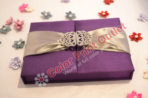 Satin Box Invitation --- DSC-102
