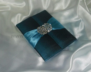 Satin/Silk Folio Invitation --- DSC--104
