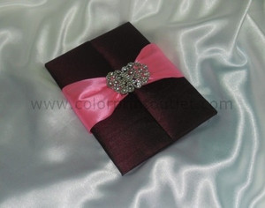 Satin/Silk Folio Invitation --- DSC--106