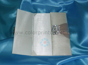 Satin/Silk Folio Invitation --- DSC--113