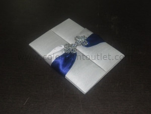 Satin/Silk Folio Invitation --- DSC--116