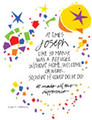 Joseph Made All The Difference - Prayer Card