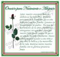 Prayer Card - Birth or Adoption - 1 card - SPANISH
