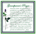 Prayer Card - Grandparent - 1 card - ENGLISH