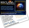 RECLAIM Confession Cards (Box of 250)