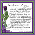 Prayer Card - Grandparent  ENGLISH (1 card)
