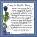 Prayer Card - Troubled Times ENGLISH (1 card)