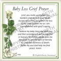 Prayer Card - Baby Loss ENGLISH (Pack of 24)
