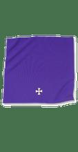 "Veil with 2"" Maltese Cross"
