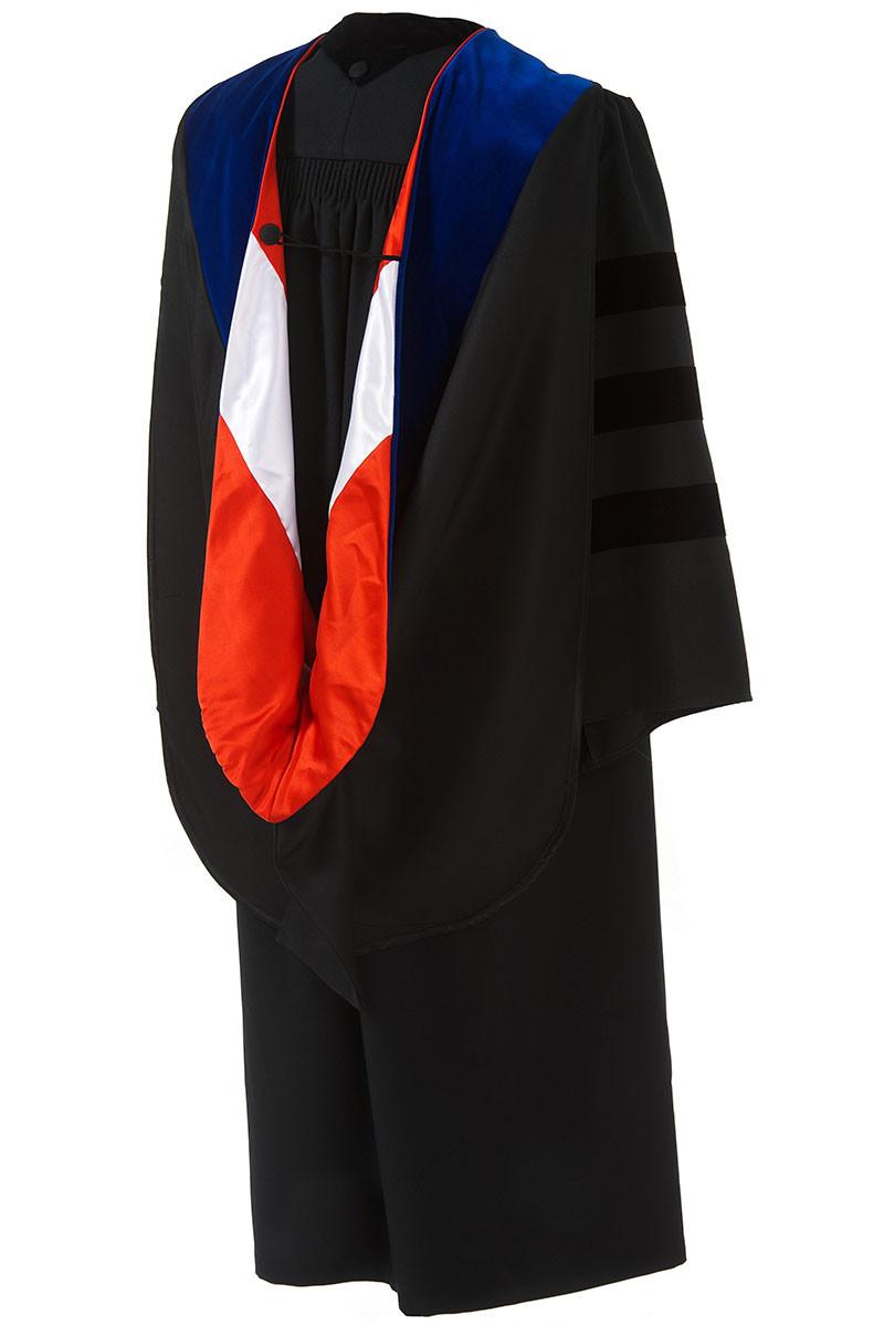 Doctoral Premium Hood - Artneedle Cap and Gown
