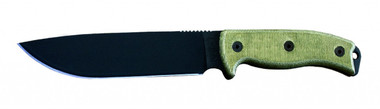Ontario RAT 7 Fixed Blade Knife, 1095 Steel