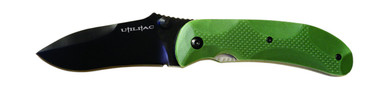 Joe Pardue JPT-2 Utilitac Knife, Green Handle