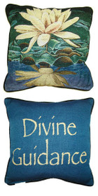 Yellow Lotus/Divine Guidance Pillow