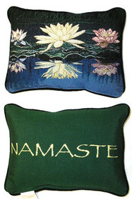 Triple Lotus/Namaste Pillow