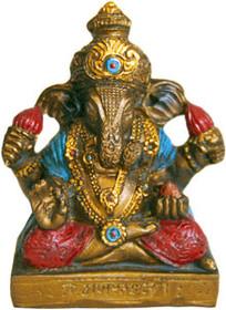 Statue - Mini Ganesh - Bronze