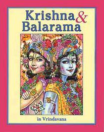 Coloring Book - Krishna & Balarama