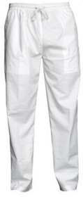 Yogi Pants - White Cotton
