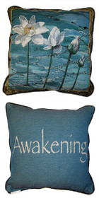 Opening to the Light/Awakening Pillow