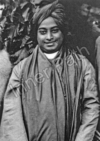 Paramhansa Yogananda Photo - By the Trees - 5x7