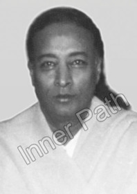 Paramhansa Yogananda Photo - Hair Pulled Back - 5x7