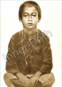 Paramhansa Yogananda Photo - Mukunda - Sepia 5x7