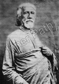 Sri Yukteswar Photo b&w - Standing 5x7