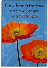 Look fear in the face and it will cease to trouble you. -Sri Yukteswar