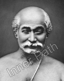 Lahiri Mahasaya Photo - B&W 5 x 7