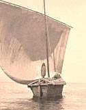 Paramhansa Yogananda Photo - God's Boatman (Lake Chapala) - Sepia 11x14