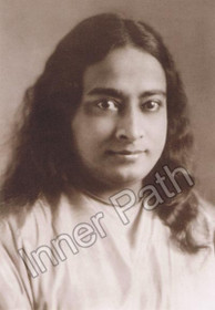Paramhansa Yogananda Photo - 1924 - Sepia 5x7