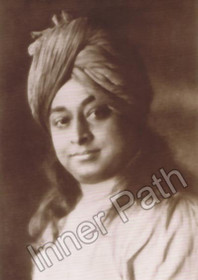 Paramhansa Yogananda Photo - Boston - Sepia 5x7