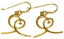 Joy Earrings - Small Gold Plated