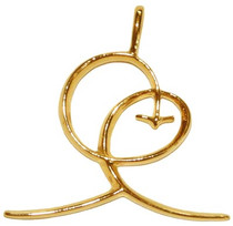 Joy Pendant - Gold Plated
