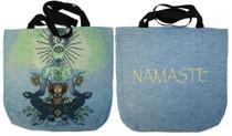 Tote - Chakraman in Blue / Namaste