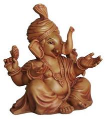 Statue - Singing Ganesh