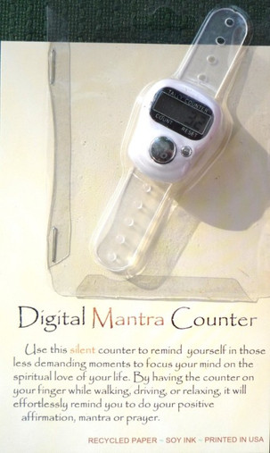 Digital Mantra Counter