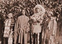 Paramhansa Yogananda with Chief Yowlachie