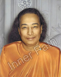 Paramhansa Yogananda Photo - Last Smile (Color) - 8x10