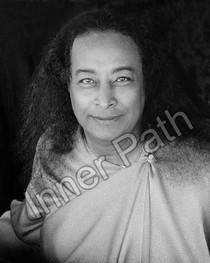 Paramhansa Yogananda Photo - Premavatar - 8x10 B&W