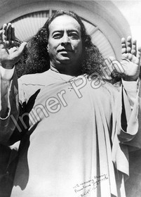 "Paramhansa Yogananda Photo - Birth of a New Era - 4"" Magnet"
