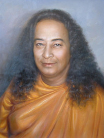 Paramhansa Yogananda Photo - Sweet Smile - Wallet Altar