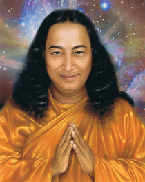 Paramhansa Yogananda Photo - Pronam Supernova - Wallet Altar