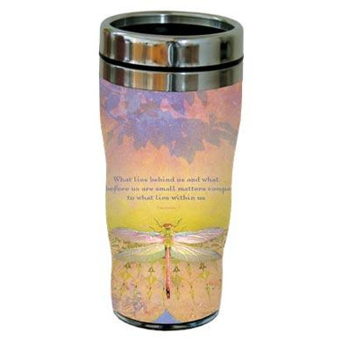 What Lies Behind - Travel Mug