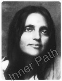 "Anandamayi Ma Photo - Ma Close Up - 4"" Magnet"
