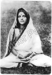"Anandamayi Ma as a Child - 4"" Card"